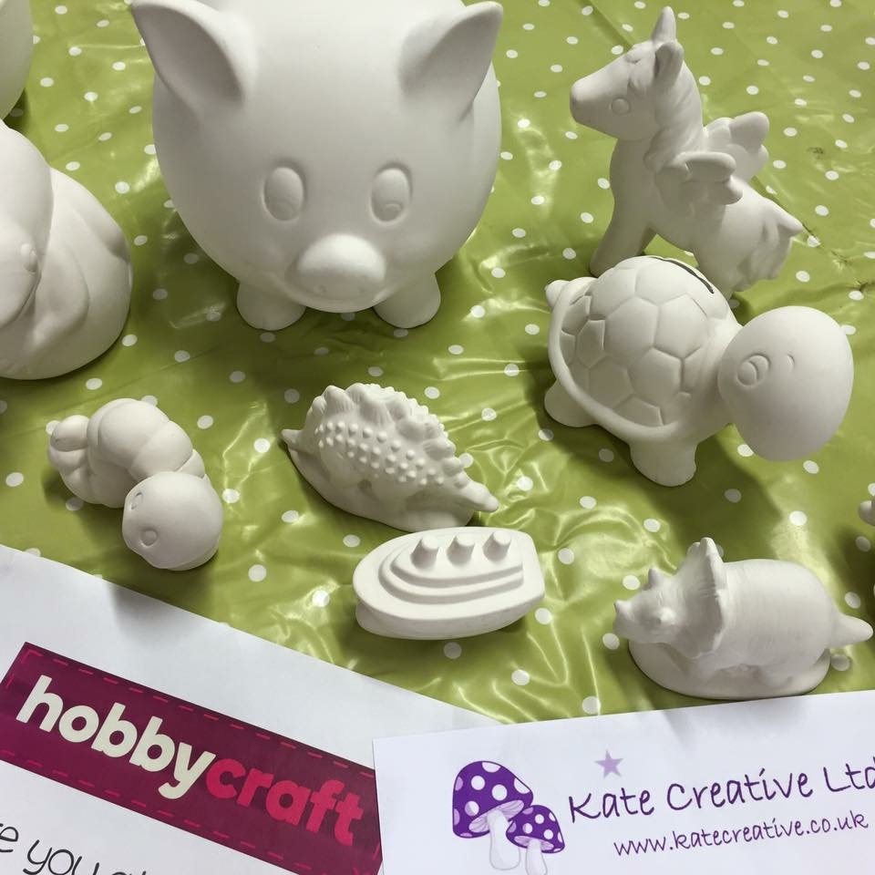 Pottery Painting Sessions in Crawley - Kate Creative